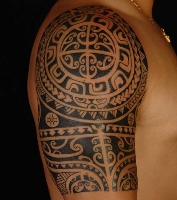 tatuagem-maori-masculina