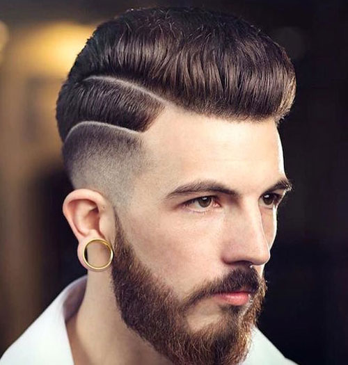 Fade-Haircut-High-Low-Fade-with-Pompadour