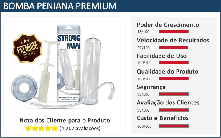 Bomba Peniana Premium