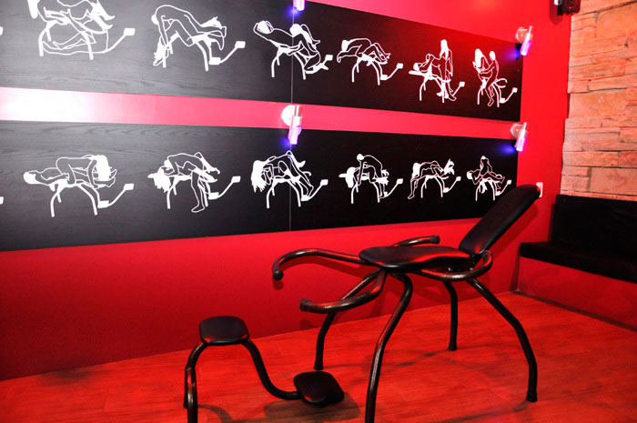Cadeira erótica motel