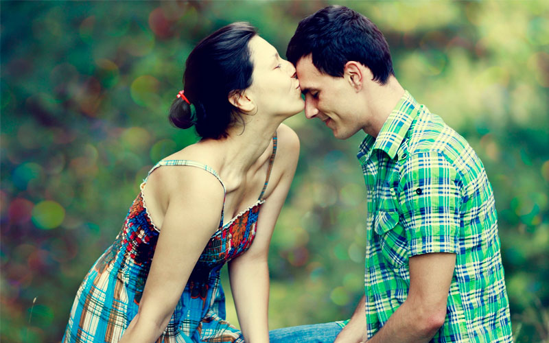 Sinais de uma mulher apaixonada