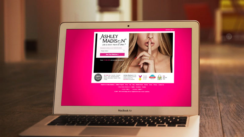 ashley madison site login