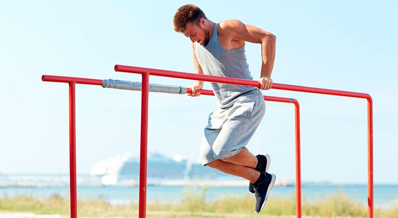 Tríceps paralela