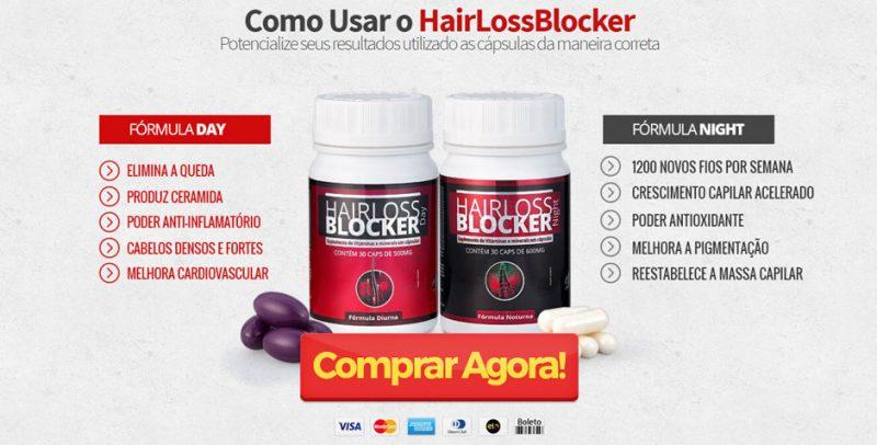 Hairloss Blocker como usar