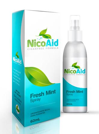 NicoAid Cigarfree embalagem